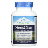 RidgeCrest Herbals SinusClear - 60 Vegetarian Capsules