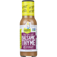 Hilarys Eat Well Dressing - Balsamic Thyme - Gluten Free - 8 oz - case of 6