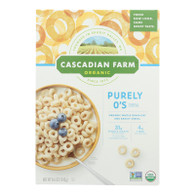 Cascadian Farm Cereal - Organic - Purely Os - 8.6 oz - case of 12