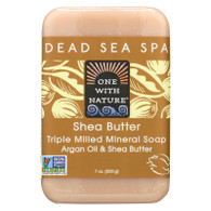One With Nature Dead Sea Mineral Shea Butter Soap - 7 oz
