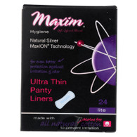 Maxim Hygiene Ultra Thin Pantyliners - Large - 24 count