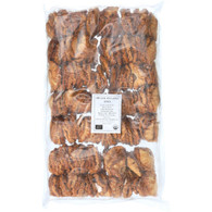 Bulk Dried Fruit Pineapple - Organic - Dried - Rings - Unsweetened - 1 lb - case of 5