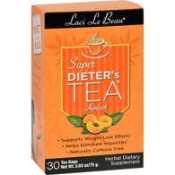 Laci Le Beau Super Dieter's Tea Apricot - 30 Tea Bags