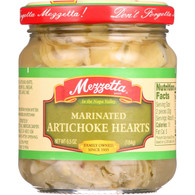 Mezzetta Artichoke Hearts - Marinated - Imported - 6.5 oz - case of 12