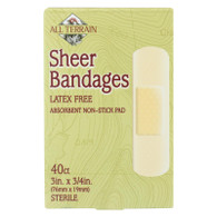 All Terrain Bandages - Sheer - 3/4 in x 3 in - 40 ct