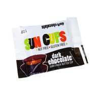 SunCup Sunflower Butter Cups - Dark Chocolate - .75 oz - Case of 24