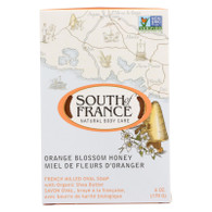 South Of France Bar Soap - Orange Blossom Honey - 6 oz - 1 each