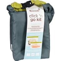 Blue Avocado Kit - Click N Go - Slate Gray - 3 Pieces