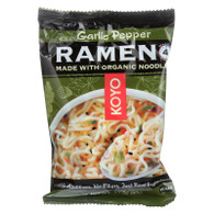 Koyo Dry Ramen - Garlic Pepper - 2.1 oz - case of 12