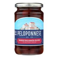 Peloponese Olives - Kalamata - Whole - 7 oz - case of 6