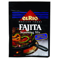 El Rio Seasoning Mix - Fajita - 1 oz - Case of 20