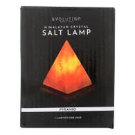 Evolution Salt Crystal Salt Lamp - Pyramid - 7 inches - 1 Count