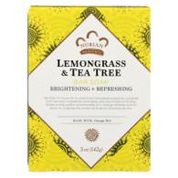 Nubian Heritage Bar Soap Lemongrass And Tea Tree With Orange Peel - 5 oz