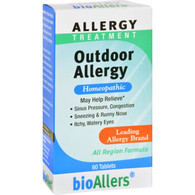 Bio-Allers Outdoor Allergy Treatment - 60 Tablets