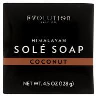 Evolution Salt Bath Soap - Sole - Coconut - 4.5 oz