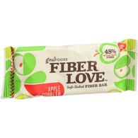 NuGo Nutrition Bar - Fiber dLish - Apple Cobbler - 1.6 oz Bars - Case of 16