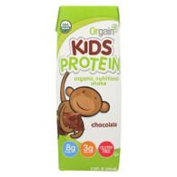 Orgain Organic Nutrition Shake - Chocolate Kids - 8.25 fl oz - Case of 12
