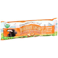 Heavenly Organics Honey Patties - Chocolate Ginger - 1.2 oz - Case of 16