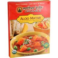 Mother India Organic Aloo Matar - 10.6 oz - Case of 6