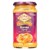 Pataks Simmer Sauce - Korma Curry - Mild - 15 oz - case of 6