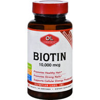 Olympian Labs Biotin - 10000 mcg - 60 Tablets
