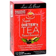 Laci Le Beau Maximum Strength Super Dieter's Tea - 12 Tea Bags