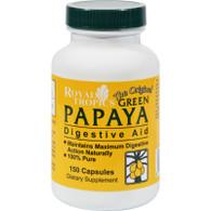 Royal Tropics The Original Green Papaya Digestive Aid - 150 Capsules