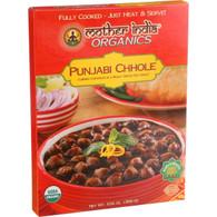 Mother India Organic Punjabi Chhole - 10.6 oz - Case of 6