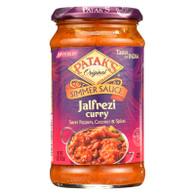 Pataks Simmer Sauce - Jalfrezi Curry - Medium - 15 oz - case of 6