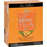 Laci Le Beau Super Dieter's Tea Apricot - 60 Tea Bags