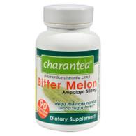 Charantea Bitter Melon - 500 mg - 90 Vegetarian Capsules