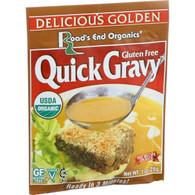 Road's End Organics Gravy Mix - Organic - Golden - 1 oz - Case of 12