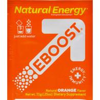 Eboost Natural Powder - Orange - Case of 20 - .25 oz
