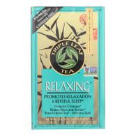 Triple Leaf Tea Relaxing Herb Tea - 20 Tea Bags - Case of 6