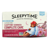 Celestial Seasonings Sleepytime Echinacea Complete Care Wellness Tea - 20 Tea Bags - Case of 6