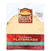 Rustic Crust Pizza Crust - F;atbreads - Thin Crust - 10 oz - case of 8