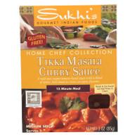 Sukhi's Gourmet Indian Food Tikka Masala Sauce - 3 oz - Case of 6