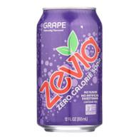 Zevia Soda - Zero Calorie - Grape - Can - 6/12 oz - case of 4