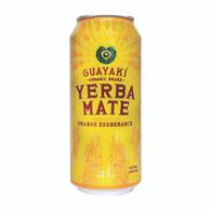 Guayaki Yerba Mate - Orange Exuberance - Case of 12 - 15.5 Fl oz.