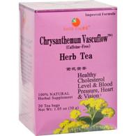 Health King Chrysanthemum Vascuflow Herb Tea - 20 Tea Bags