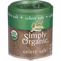 Simply Organic Celery Salt - Organic - .85 oz - Case of 6