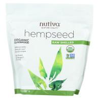 Nutiva Organic Hempseed - Shelled - 19 oz