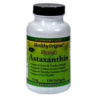 Healthy Origins Astaxanthin - 4 mg - 150 Softgels