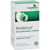 FutureBiotics ThinkFast - 60 Vegetarian Capsules