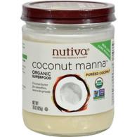 Nutiva Coconut Manna - 15 oz