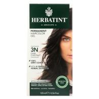 Herbatint Permanent Herbal Haircolour Gel 3N Dark Chestnut - 135 ml