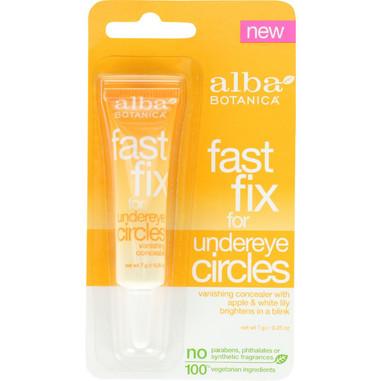 Alba Botanica Fast Fix For Undereye Circles - .25 oz - case of 6