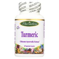 Paradise Herbs Essential Turmeric - 60 Vegetarian Capsules
