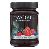 Favorit Preserves - Swiss - Forest Berry - 12.3 oz - case of 6