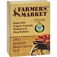 Farmer's Market Natural Bar Soap Apple Orchard - 5.5 oz